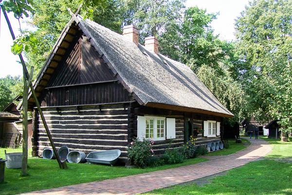 Hof aus Burg Freilandmuseum Lehde, Foto: Museum-OSL